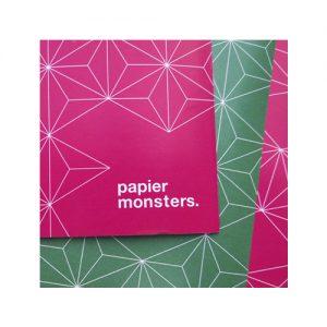 Inpakpapier Papiermonsters