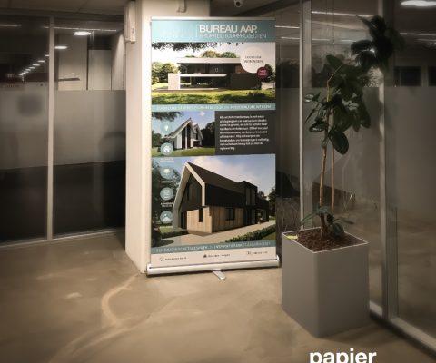 Roll Up banner Bureau AAP